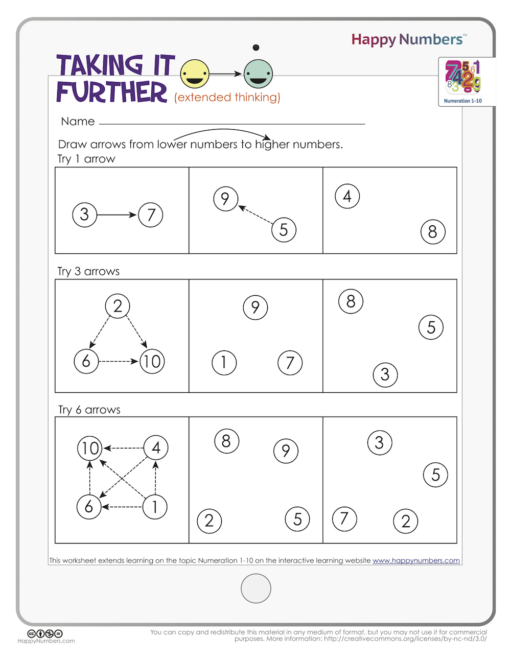 Advanced Math for K-1: Digging Deeper into Numeration